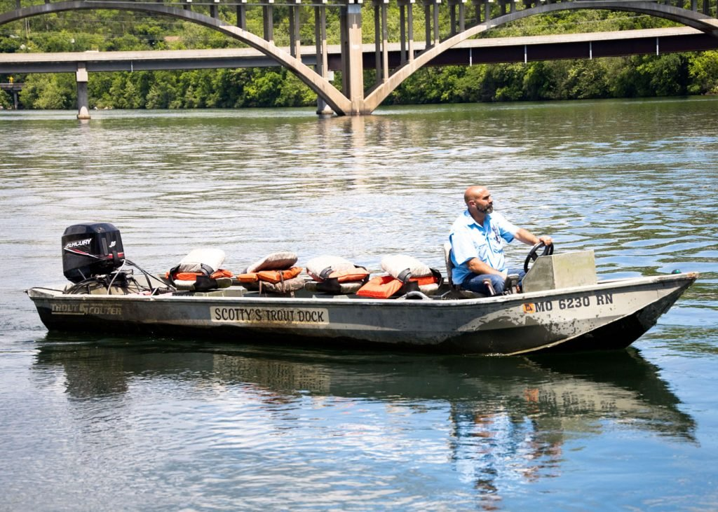 Fishing boat rentals at Scotty's Trout Dock