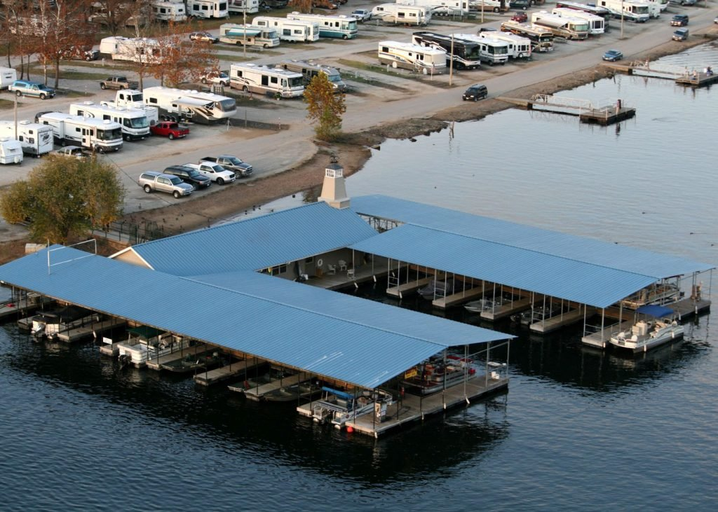 Boat slip rentals at Scotty's Trout Dock