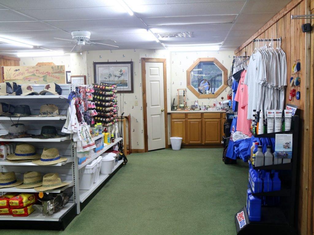Store inside Scottys Trout Dock